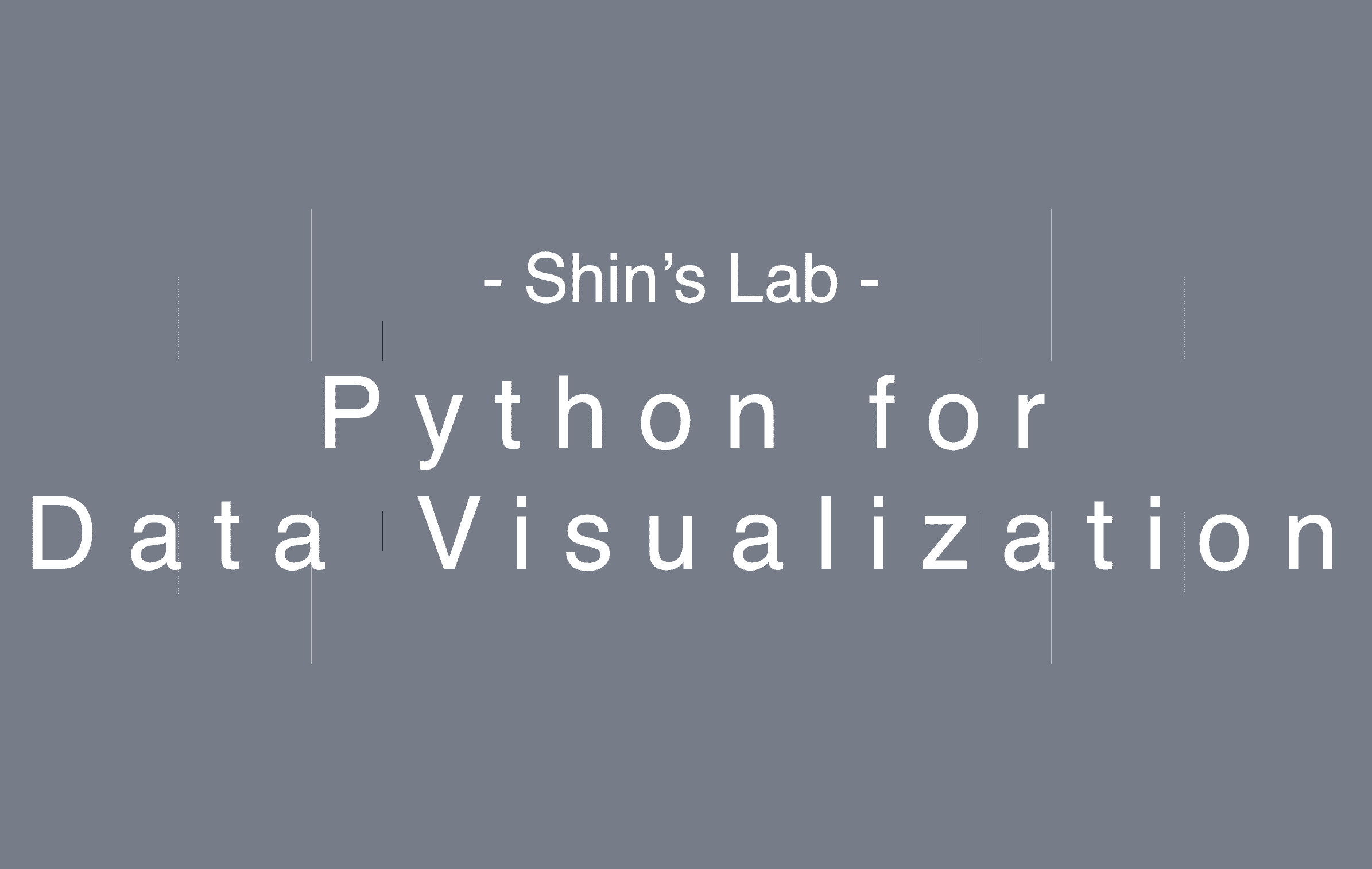 공대형아의 데이터 시각화를 위한 파이썬
