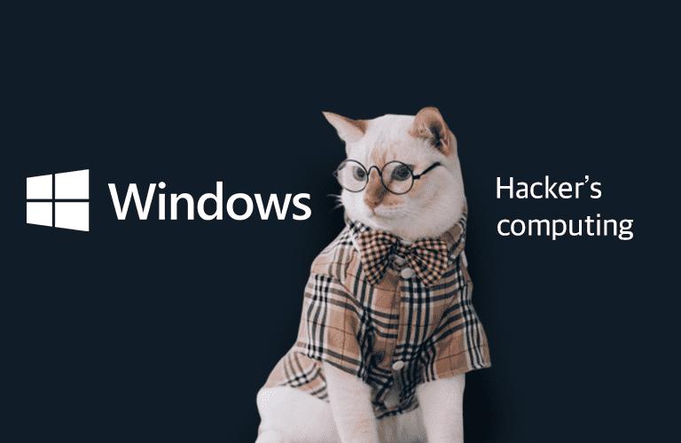 취미로 해킹#2(해커의 컴퓨팅)