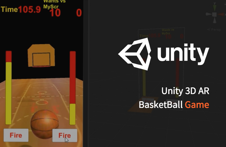 Make a Unity3d AR BasketBall Game Project