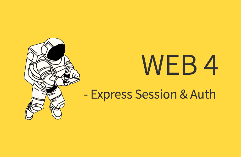 Web4 - Express-Session-Auth