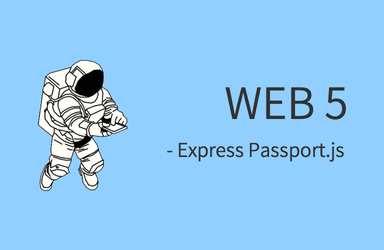 WEB5 - Express Passport.js