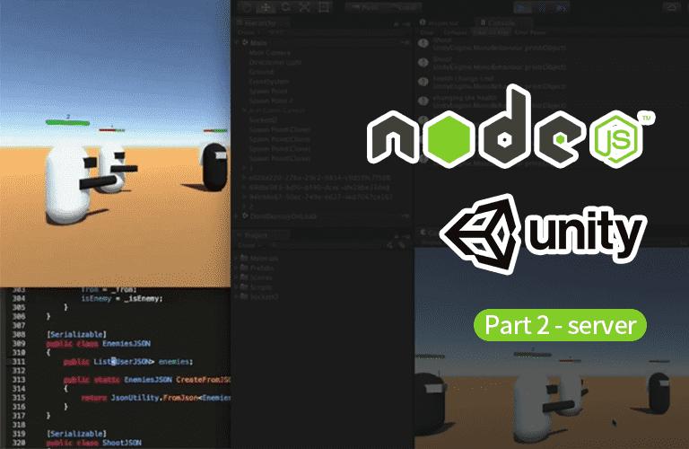 Nodejs 를 이용한 유니티 네트워크 게임 프로그래밍 Part-2. 서버