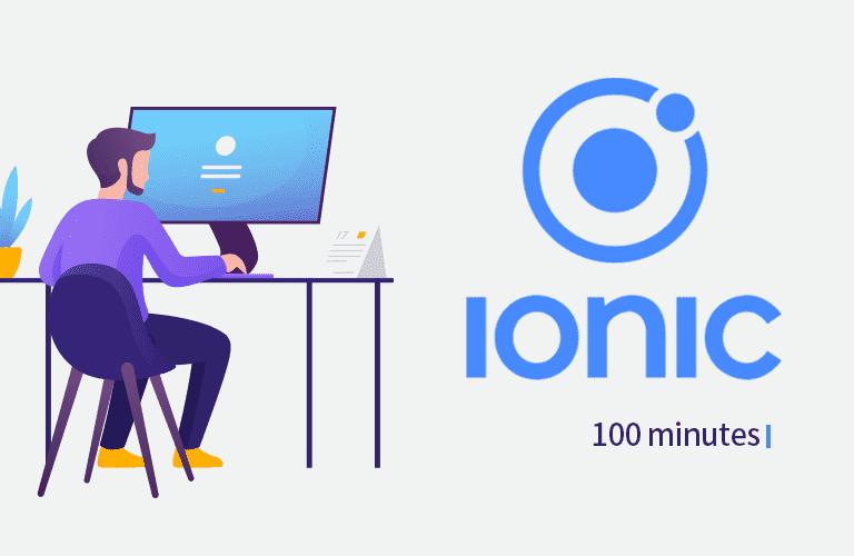 Ionic, 아이오닉 100분 핵심강의