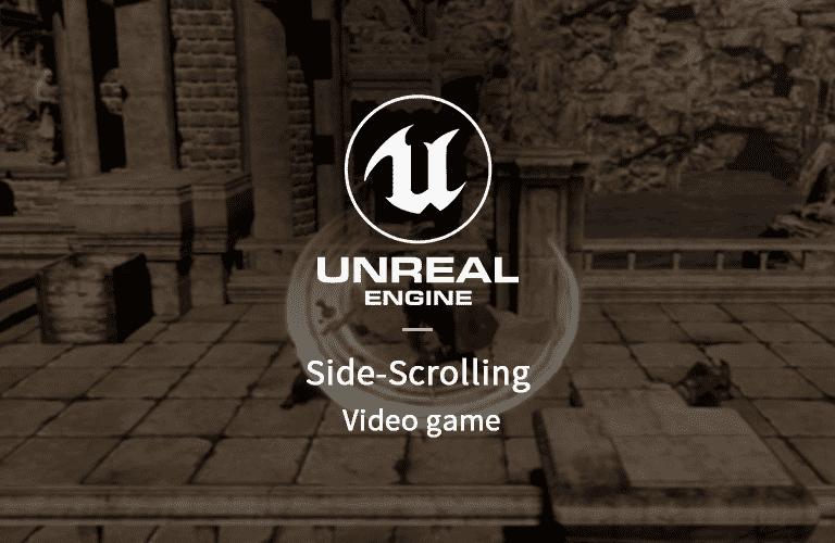 언리얼 엔진4 (Unreal Engine) 3D 횡스크롤 게임 만들기