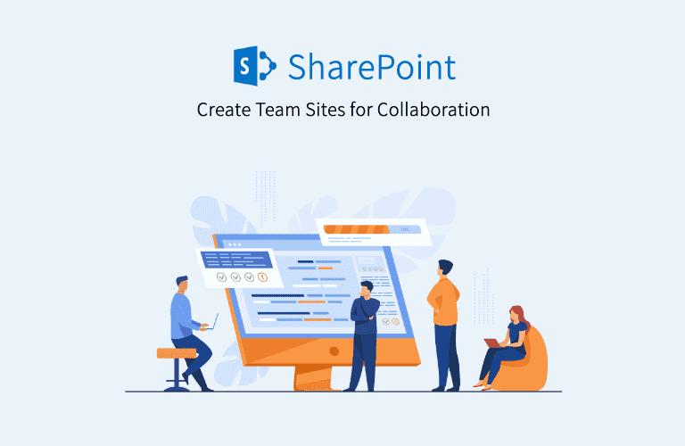 SharePoint로 협업을 위한 팀 사이트 만들기