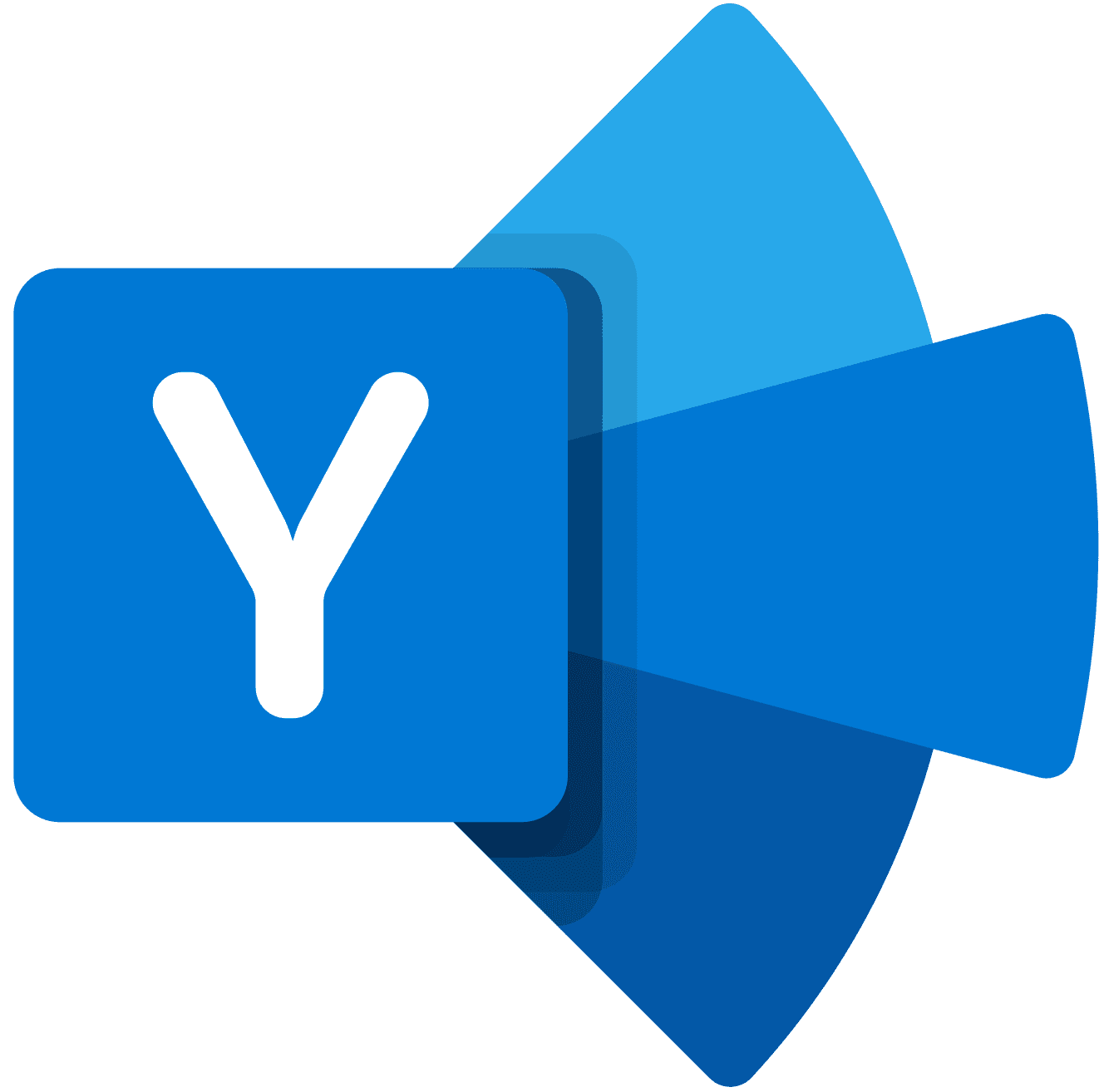 Microsoft Yammer(야머) 로고