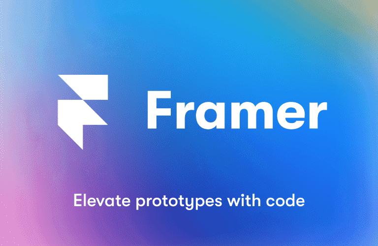 프레이머를 활용하여 쉽고 간단하게 프로토타입 제작하기