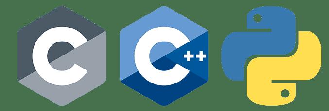 C, C++, Python