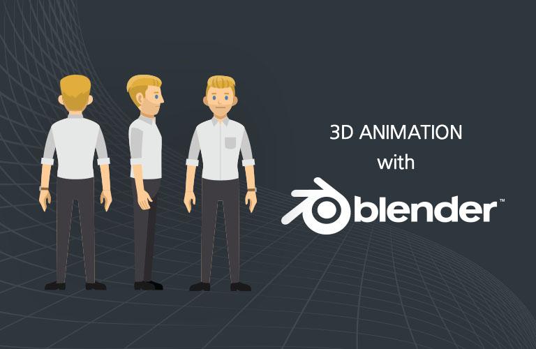 블렌더(Blender)를 활용한 3D 캐릭터 애니메이션 만들기