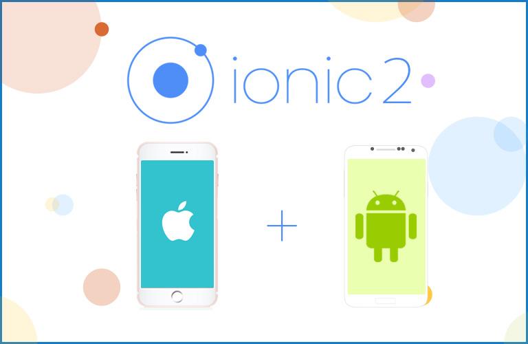 Ionic2 프레임워크를 이용한 모바일 앱 개발 강좌