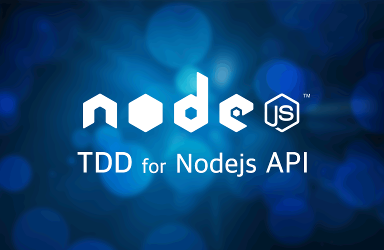 테스트주도개발(TDD)로 만드는 NodeJS API 서버