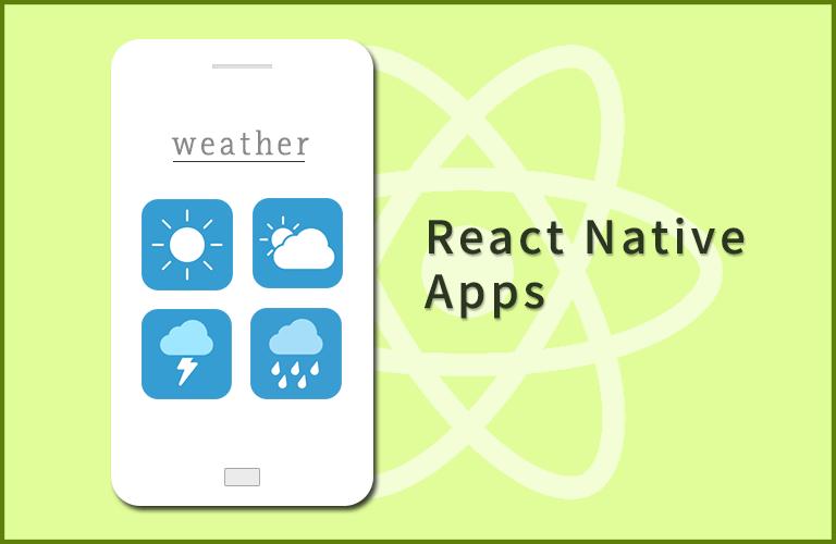 React Native로 날씨앱 만들기
