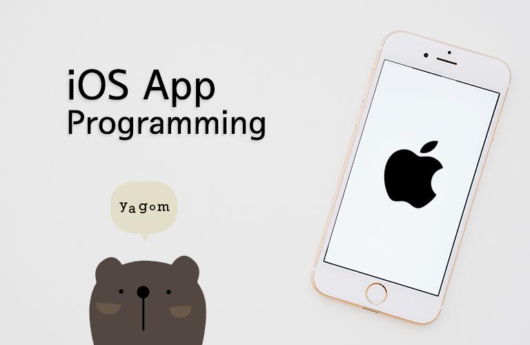 야곰의 iOS 프로그래밍