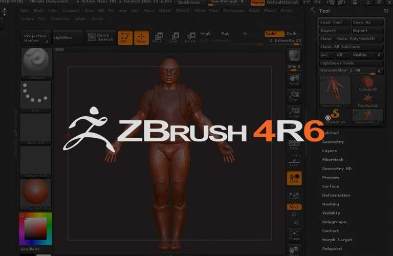 Zbrush 4R6 입문에서 마스터 까지 Zbrush 4R6 의 모든것